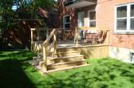 Deck & Rail - Wood & Cable