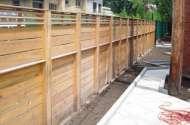 Fence - Wood